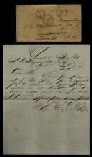 1861 Charleston, SC - Confederate Cover & Letter to Manning FORWARDED to Sumter!