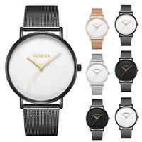 New Fashion Men's Watch Luxury Stainless Steel Analog Quartz Sport Wrist Watches