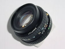 Pentax-A Pentax 50mm F/1.7 SMC Standard Manual Focus Lens *_* as mint