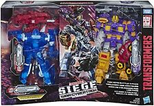 Hasbro Transformers Toys Generations War for Cybertron 3 Pack Amazon Exclusive