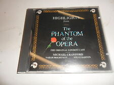 CD Highlights from the Phantom of the Opera (orig. London Cast)   Colonna sonora