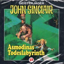 JOHN SINCLAIR - Teil 58 - Asmodinas Todeslabyrinth - AUDIO CD - NEU OVP