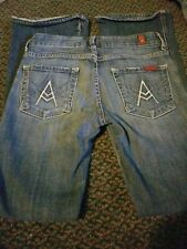 7 For All Mankind A Pocket Size 24 Actual 26 X 28