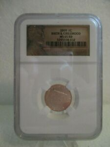 2009 1c Birth & Childhood MS65 RD - Graded MS67RD by NGC (#1)