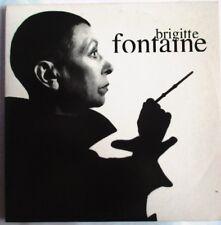 """BRIGITTE FONTAINE - RARE MAXI CD PROMO """"IL SE MÊLE À TOUT ÇA / DANS LA CUISINE"""""""
