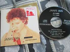 JANIS IAN revenge  The Grapevine Label GRAPRO CD2  4TRACK UK CD Sampler