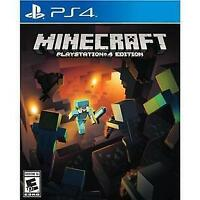 Minecraft -- PlayStation 4 Edition (Sony PlayStation 4, 2014) PS4 NEW