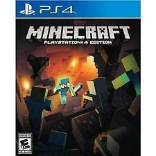 MINECRAFT PS4 ACT NEW VIDEO GAME