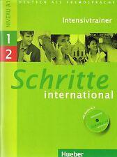 Hueber SCHRITTE INTERNATIONAL Intensivtrainer mit Audio-CD 1+2 Niveau A1 @NEW@