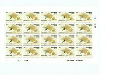 Maldives Sc# 1613 Lilienthal Stamp - Imperf - Sheet of 20 stamps - Mnh