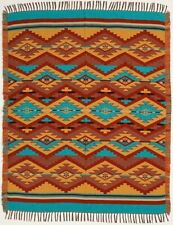 Accent Throw Afghan OACCENT-8F Southwest Southwestern Geometric Design 4' X 5' B