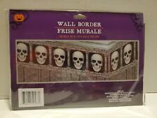 "Halloween Skull Wall Border 12""X25ft"