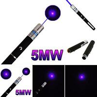 Laser Pointer Pen Laserpointer Espada Pointeur Lasers Petardos UV 5w 405nm 5MW
