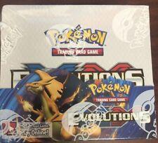 Pokemon XY EVOLUTIONS Sellada Caja del aumentador de presión 36 paquetes NUEVO