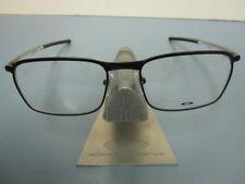 OAKLEY mens RX eyeglass frame Conductor Satin B&W* OX3186-0552 New In Box w/Case