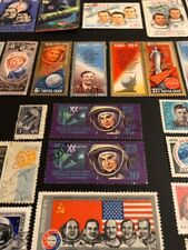 USSR Extremely Rare SPACE /Tereshkova Y.Gagarin& 100+ The Best Stamps Collection