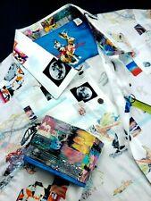 Robert Graham EMBROIDERED Patchwork XL $268 Space Exploration Badland Shirt