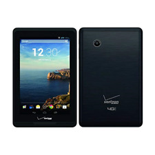 "Verizon Ellipsis Android Tablet 7"" 8GB, Wi-Fi+4G  QMV7B - Black"