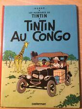 LES AVENTURIERS DE TINTIN, French Graphic Novels, Tintin Au Congo