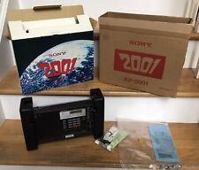 Sony ICF-2001 AM FM LW SSB CW 150kHz to 29.999MHz Working 2 Original Boxes