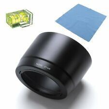 Movo ET-65B Lens Hood for Canon EF 70-300mm DO IS USM + Spirit Level & Cloth