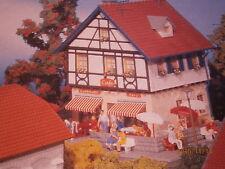 Faller H0 Pension Cafe Wohnhaus Fachwerkhaus Bausatz NEU