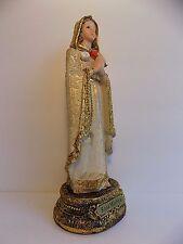 "Rosa Mystica / St Mystical Rose  6"" inches Statue/Figurine / Rosa Mistica / Mary"
