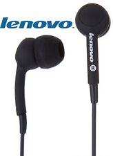 Lenovo P165 Headphones Mic Remote Interchangable EarBuds SmartPhone Headset 9mm