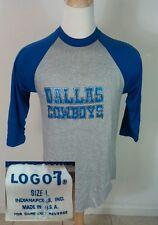 Vintage Deadstock Nos 70s Dallas Cowboys Nfl Football T Shirt L Logo 7 80s