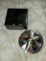 Marlboro Ashtray Star Top Never Used Heavy Metal Silver Collectible