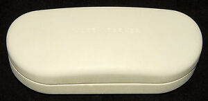 WARBY PARKER - White - Hard CLAMSHELL Eyeglasses / Sunglasses Protective CASE