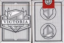 Victoria Deck Playing Cards Poker Size Epcc Handcrafted Custom Limited Sealed