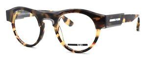 McQ Alexander McQueen MQ0005O 002 Women's Eyeglasses Frame 45-22-140 Havana Grey