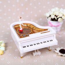 Mechanische Klassische Ballerina Mädchen Tanzen auf das Klavier Spieldosen