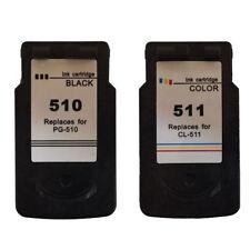 PG510 Black & CL511 Colour Ink Cartridges For Canon PIXMA Printers