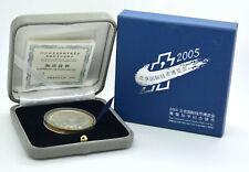 10 Yuan 2005 Silber Panda Beijing International Coin Exposition