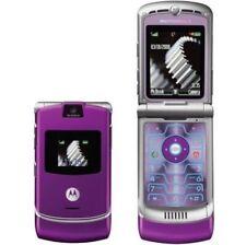 Original Unlocked Motorola RAZR V3 Cellphone Camera Bluetooth Flip Mobile Phone