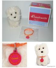 RETIRED My American Girl MYAG 2010 COCONUT PET SET Adorable Westie Puppy Dog
