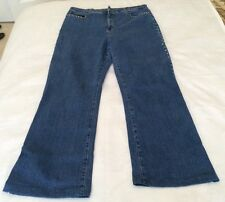 Not Your Daughters Jeans NYDJ Stretch Womens Denim Rhinestone Size 10