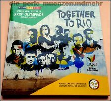 Offizieller KMS Belgien 2016 BU Qualität . Olympische Spiele in Rio Neu