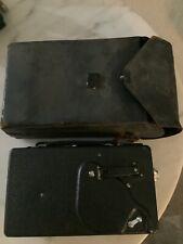 Eastman Kodak Cine 16mm Movie camera model M antique with case
