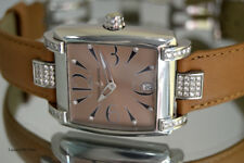 LADIES ULYSSE NARDIN CAPRISE 133-91 S.STEEL FACTORY DIAMOND DIAL+BEZEL AUTOMATIC
