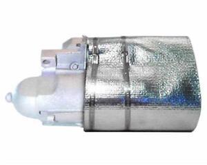"Thermo-Tec 14150 Starter Heat Shield Reflective Mylar  7"" x 22"" Locking Straps"