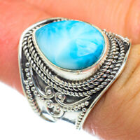 Larimar 925 Sterling Silver Ring Size 7 Ana Co Jewelry R47411F
