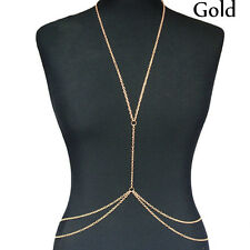 Body Chain Harness Crossover Belly Waist Bikini Beach Slave Fashion Jewelry
