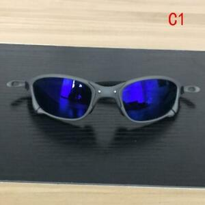 New Ruby Polarized Sunglasses UV400 Cycling Bike Glasses X-Metal Juliet Cyclops