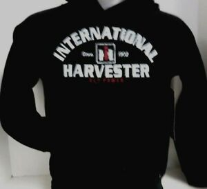 International Harvester Red Power Black Youth Pullover Hoodie