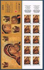 Carnet Croix-Rouge CR2053 - Vierge à l'enfant - CR (3717) - 2004