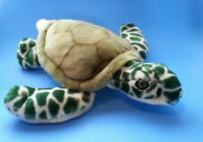 "Fiesta Green SEA TURTLE PLUSH 14"" Long - Item #A06759"