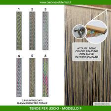 Tenda a fili pvc intrecciati uscio porta finestra moschiera antimosche insetti